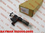 DENSO Common rail injector 295900-0660 for ISUZU 4HK1, 6HK1 8982843930, 8-98284393-0