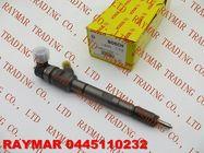 BOSCH Common rail injector 0445110232, 0445110233 for HYUNDAI & KIA 33800-4A400, 33800-4A410, 33800-4A420