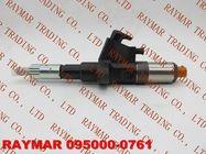 DENSO Common rail fuel injector 095000-0760, 095000-0761 for ISUZU 6SD1 1153004151, 1-15300415-1