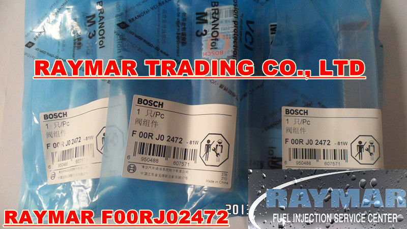 BOSCH common rail injector valve F00RJ02472