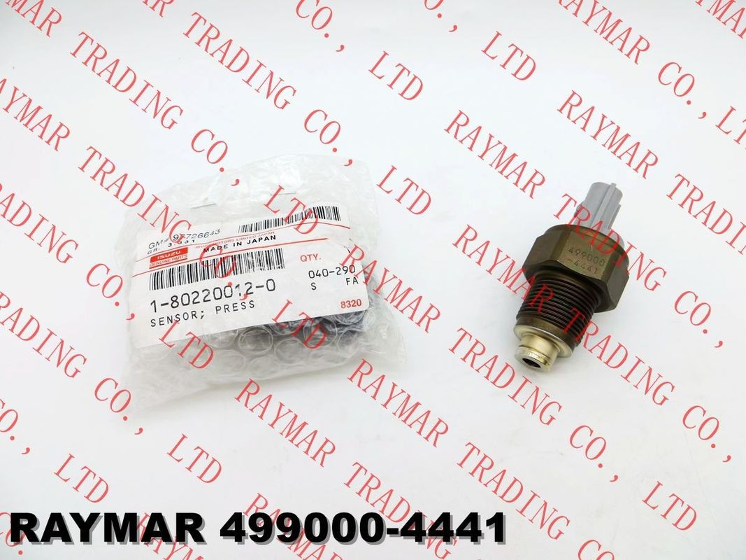 DENSO Fuel rail pressure sensor 499000-4441 for KOMATSU ND499000-4441, ISUZU 1802200120,