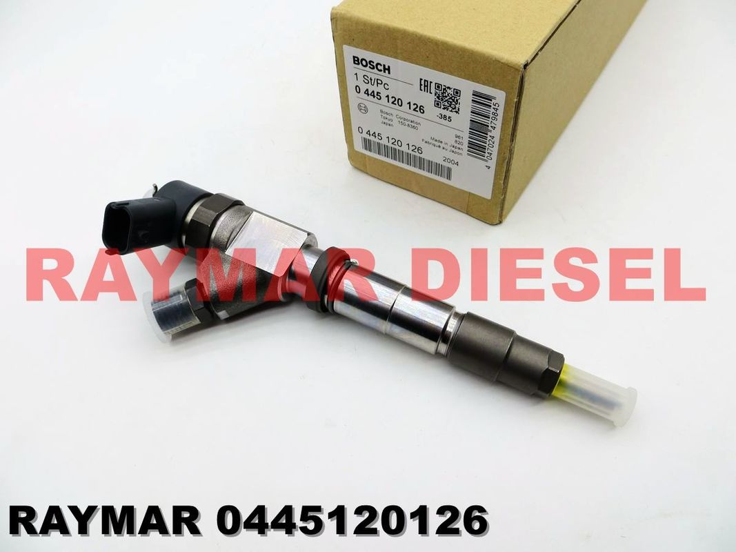 BOSCH Common rail fuel injector assy 0445120126, F01G09P2A1 for KOBELCO SK130-8, SK140-8 VA32G6100010, 0986AM0065