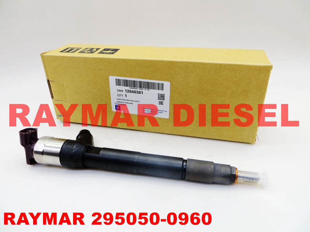 DENSO Genuine common rail fuel injector 295050-0960, 2950500960 for GM / CHEVROLET 12640381