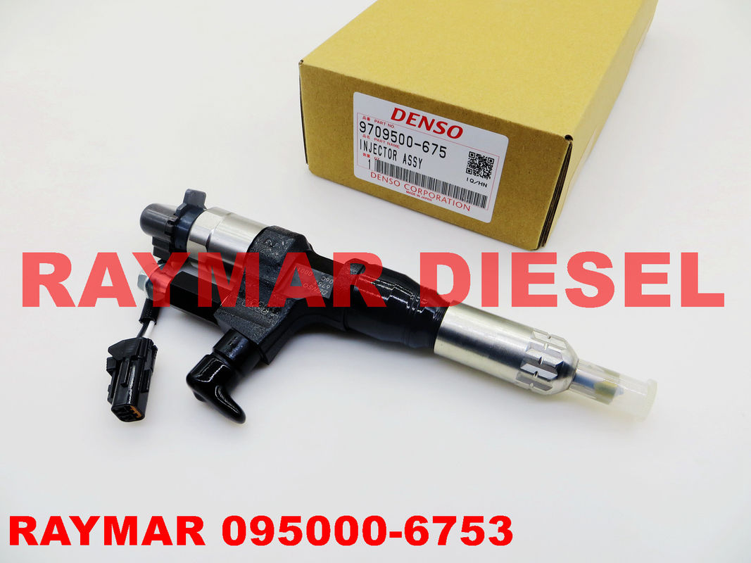 DENSO Genuine diesel common rail injector 095000-6750, 095000-6753 for HINO J08E 23670-E0030, 23670-E0031, 23670E0030